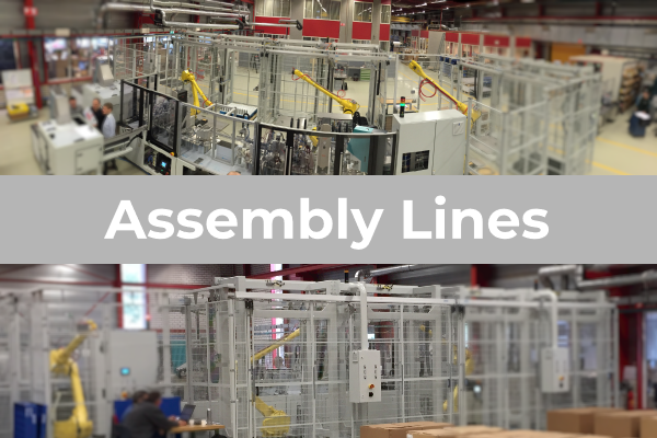 Fully automated assembly lines