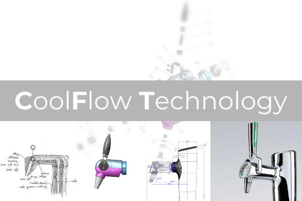 CoolFlow Technology beer tap